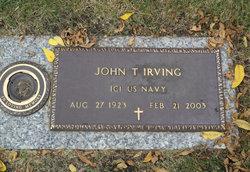 """John T """"Jack"""" Irving"""
