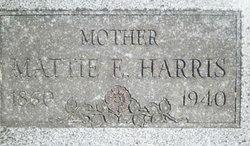 Mattie E. Harris