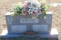 """Elizabeth """"Lizzie"""" <I>Parker</I> Royal"""