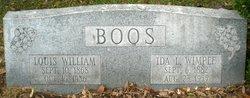 Ida L. <I>Wimpee</I> Boos