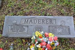 """Renate Amanda """"Nettie"""" <I>Meyer</I> Maderer"""
