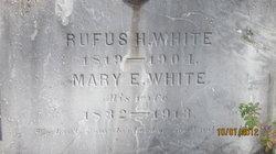 Mary E White