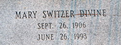 Mary <I>Switzer</I> Divine