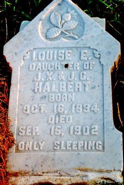 Louise E Halbert