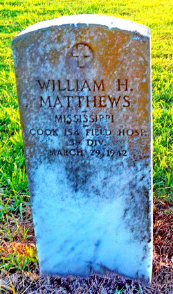 William H Matthews