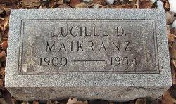 Lucille C <I>Dannheiser</I> Maikranz