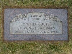 Cynthia Louise <I>Stevens</I> Heathman