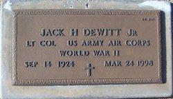Jack H Dewitt, Jr