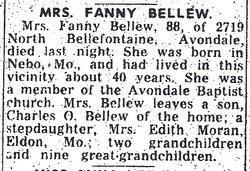 Frances Emily <I>Northern</I> Bellew