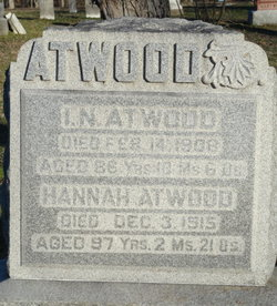 Hannah <I>Hunt</I> Atwood