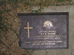 Corporal William Francis Xavier Byrne