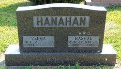 Velma <I>Garrett</I> Hanahan