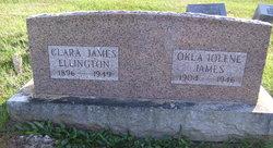 Clara Esther <I>James</I> Ellington