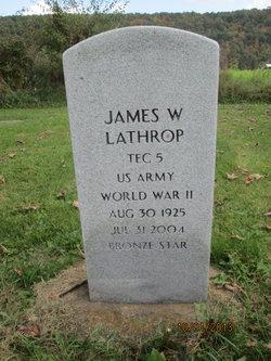 James W Lathrop