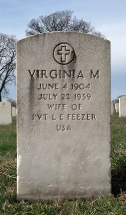 Virginia M Feezer