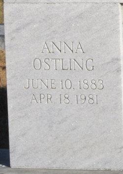Mrs Anna <I>Ostling</I> Alquist