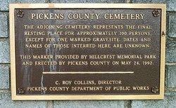Pickens County Poor Farm Cemetery