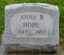 Anna B <I>Zeachman</I> Hohl