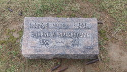 Pauline <I>Williams</I> Abercrombie