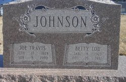 Betty Lou Johnson