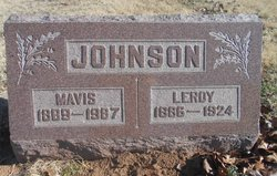 Mavis <I>Coleman</I> Johnson