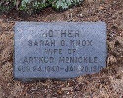 Sarah G. <I>Knox</I> McNickle