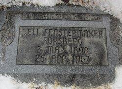 "Edith Bell ""Eda"" <I>Smith</I> Forsberg"