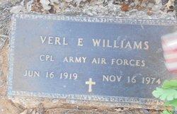 Corp Verl E Williams