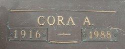 Cora A. Frazier