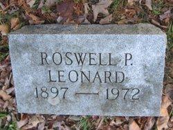 Roswell P Leonard
