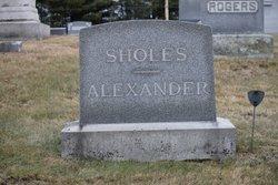 Helen Mildred <I>Sholes</I> Alexander
