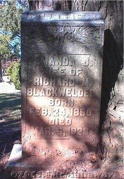 Amanda J <I>Eudy</I> Blackwelder