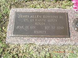 "James Allen ""Shorty"" Robbins"
