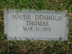 Maisie <I>Denholm</I> Thomas