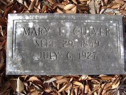Mary E. <I>Amos</I> Culver