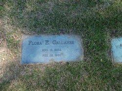 Flora E. Gallaher