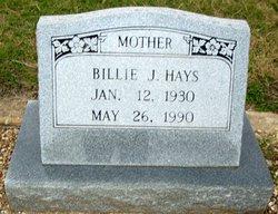Billie Jean <I>Cobern</I> Hays