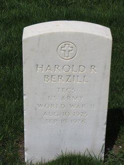 Harold R Berzill