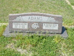Woodrow Wilson Adams