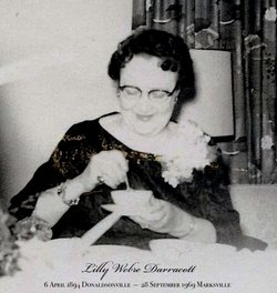 Lilly O <I>Weber</I> Darracott
