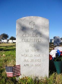 Claude B Culpepper
