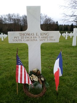 Pvt Thomas E King