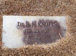 Dr Benjamin H Knotts, Sr