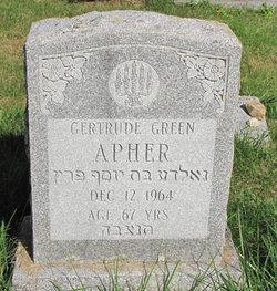 Gertrude <I>Green</I> Apher