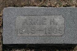 "Susanna H. ""Anna"" <I>Hendrixson</I> Swibold"