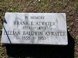 Lillian <I>Baldwin</I> Atwater