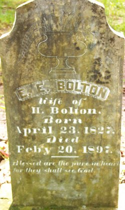 Elizabeth Elvira <I>Sparks</I> Bolton