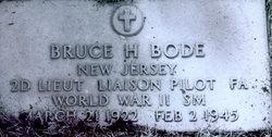 """Lieut Bruce H. """"Steve"""" Bode"""
