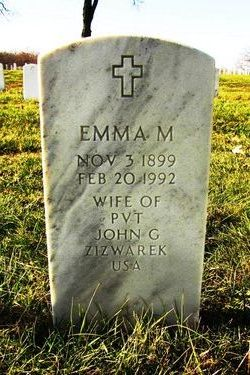 Emma M. <I>Stamp</I> Zizwarek