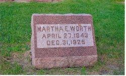 Martha E Worth